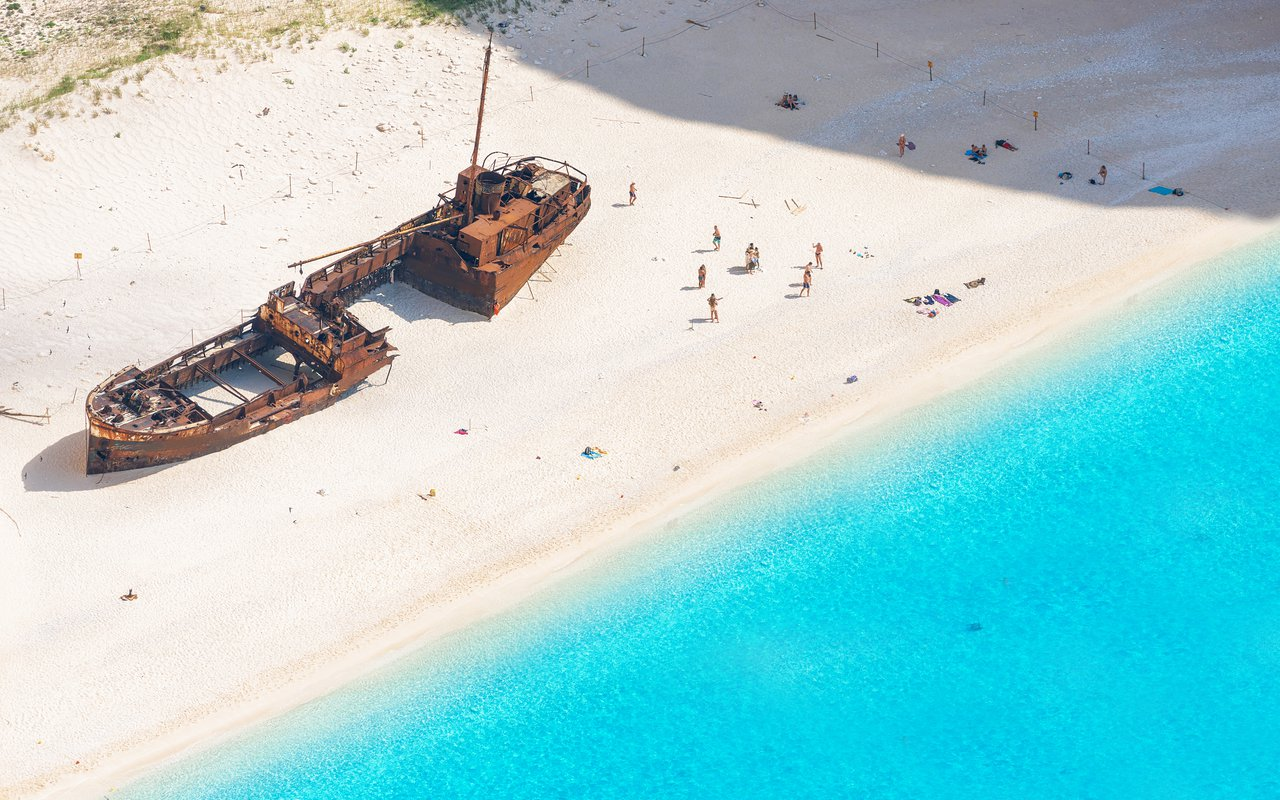 AWAYN IMAGE Reach The Shipwreck of Navagio Beach (Zakynthos)
