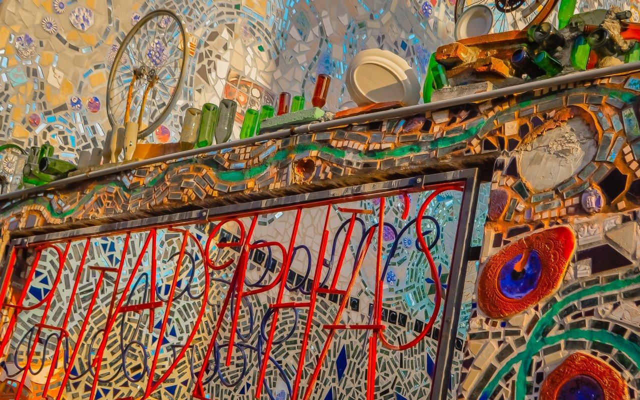 AWAYN IMAGE Explore Philadelphia's Magic Gardens for free