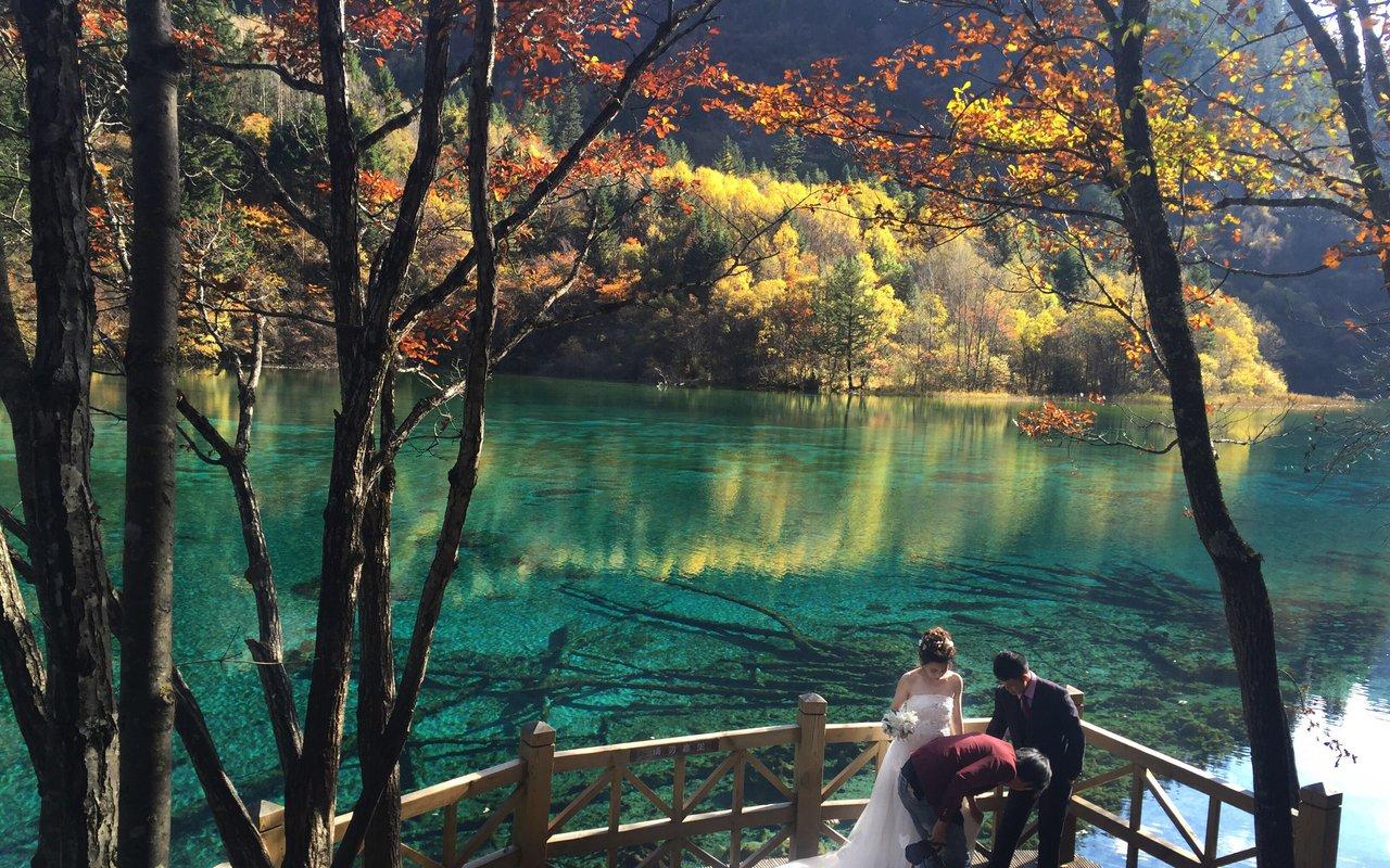 AWAYN IMAGE The Jiuzhaigou Valley