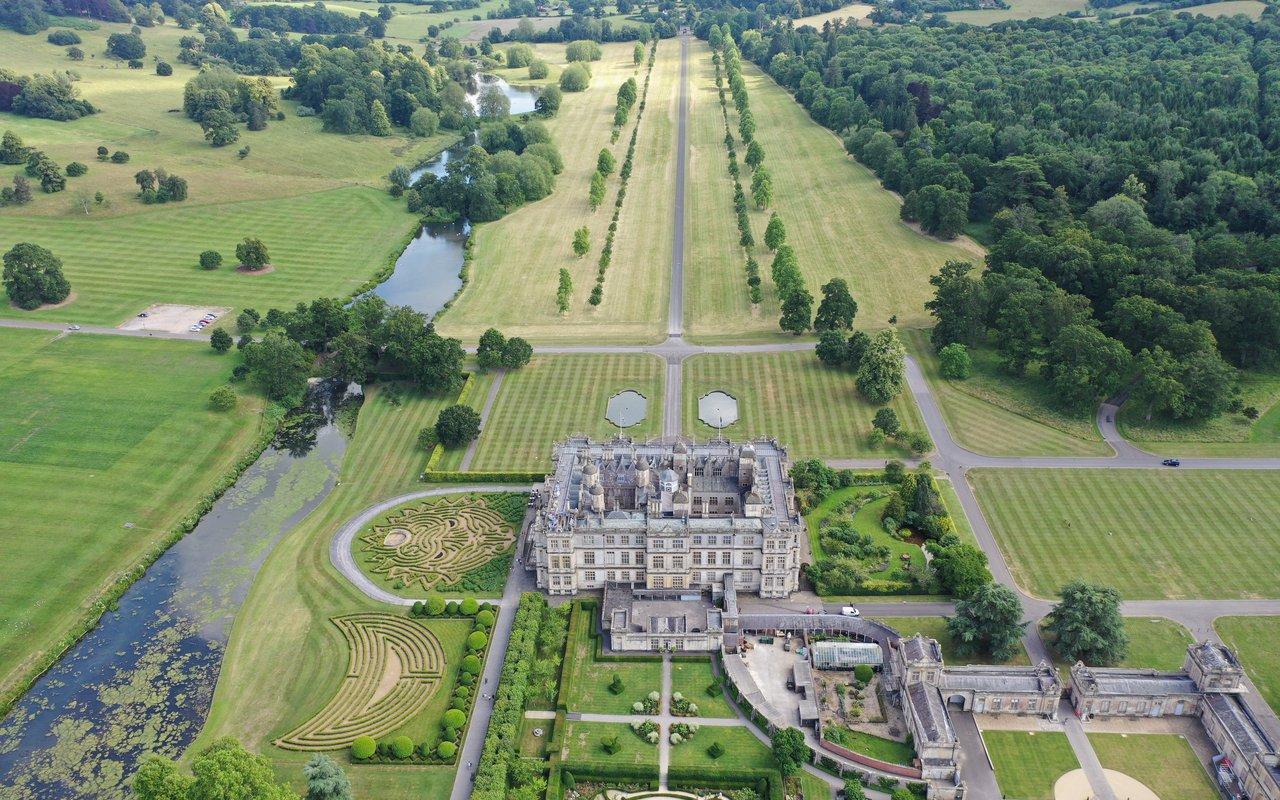 AWAYN IMAGE Discover Longleat Hedge Maze