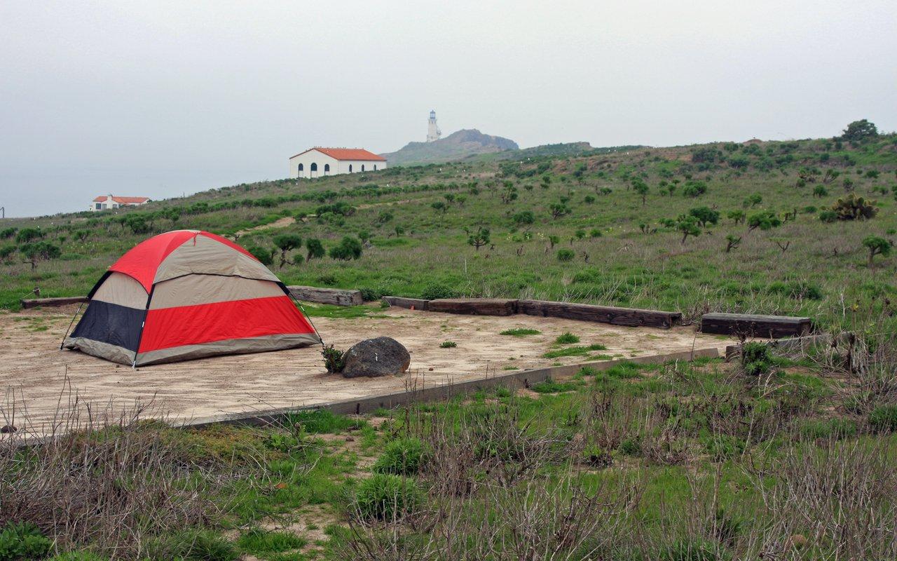 AWAYN IMAGE Camp at Anacapa Island