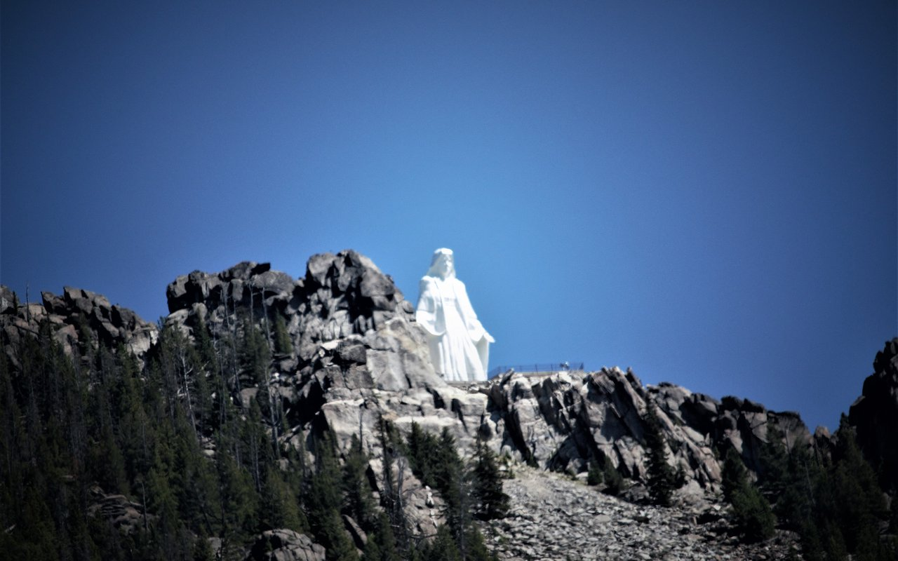 AWAYN IMAGE Photograph Our Lady of the Rockies
