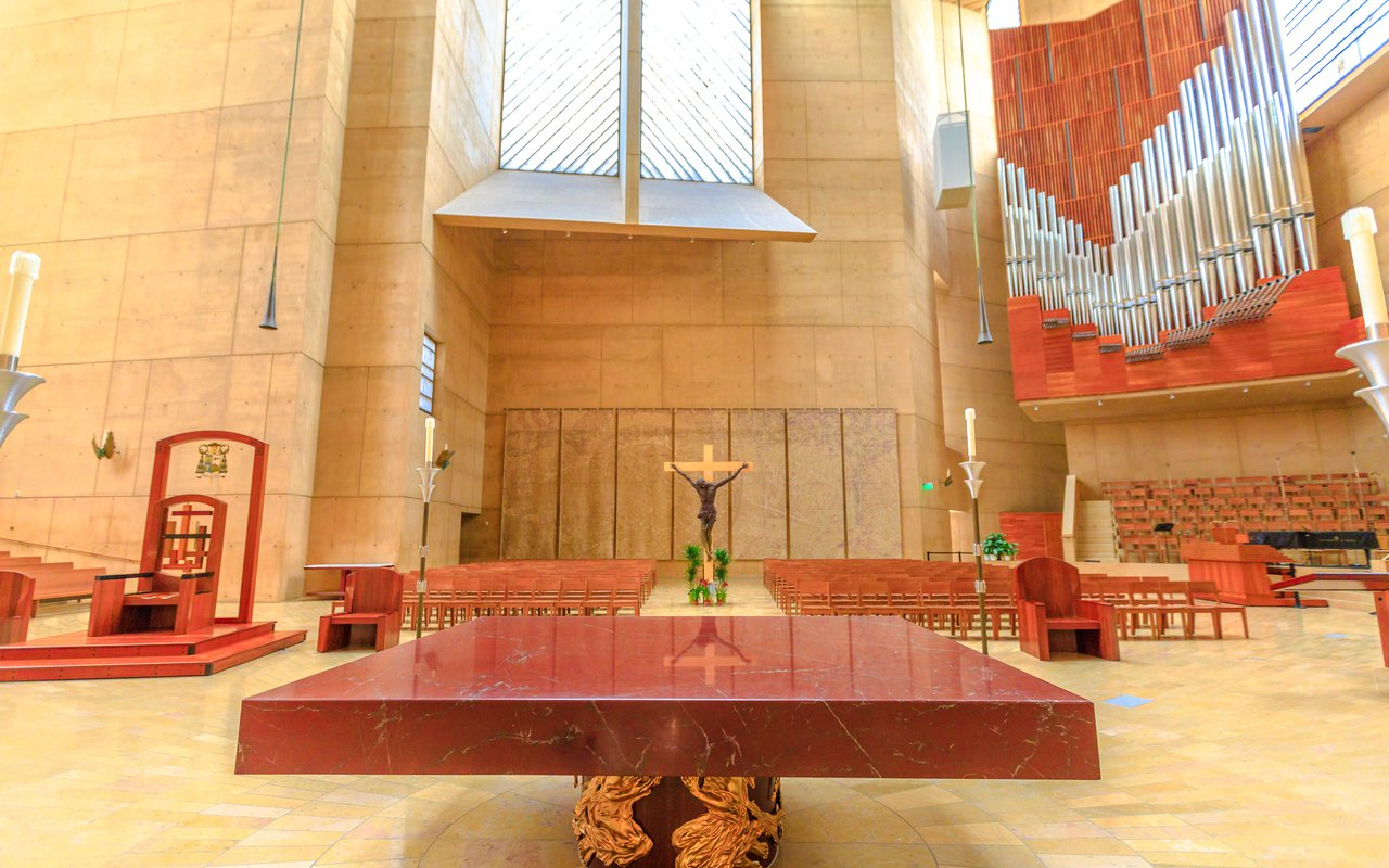 AWAYN IMAGE The Cathedral of Our Lady of the Angels