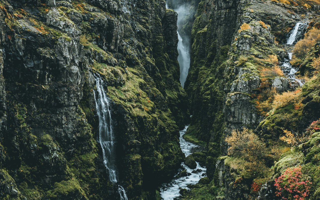 AWAYN IMAGE Hike to Glymur Falls
