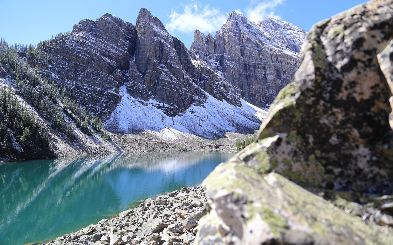 AWAYN IMAGE Lake AgnesTrail