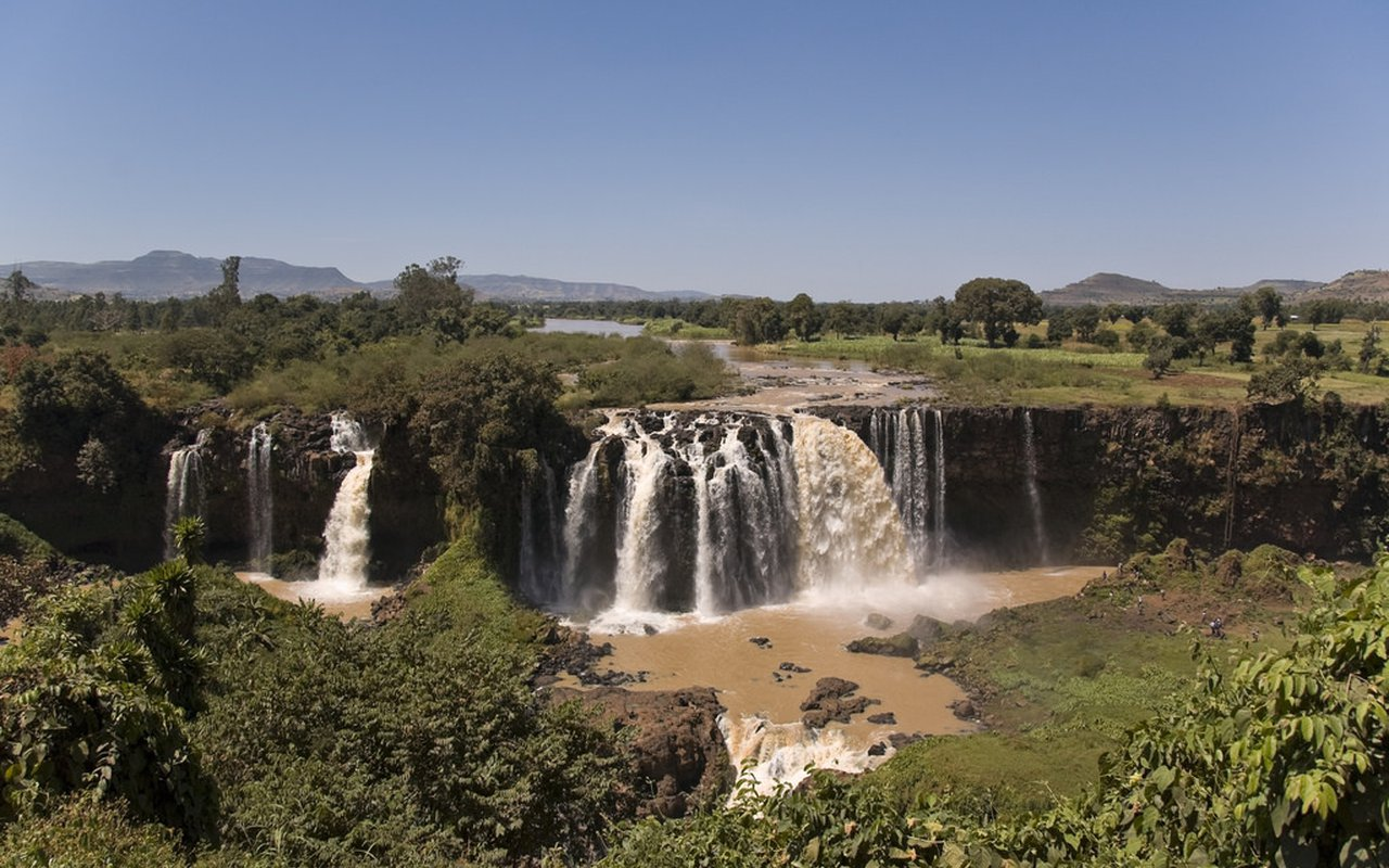 AWAYN IMAGE Blue Nile Falls Hike