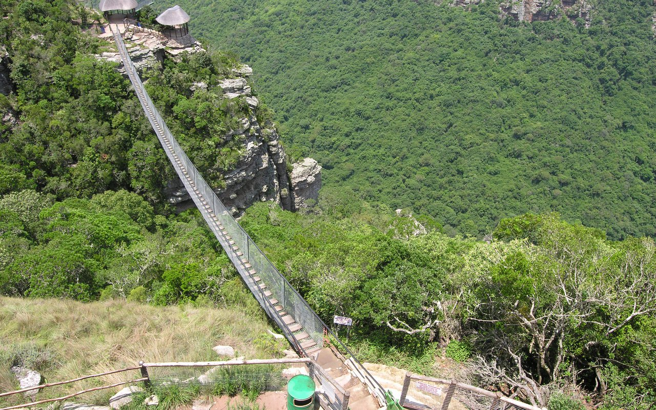 AWAYN IMAGE Oribi Gorge Nature Reserve Hike