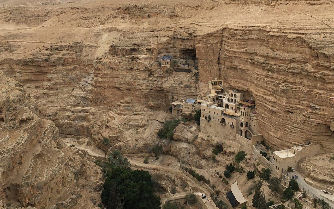 AWAYN IMAGE St. George's Monastery, Jerusalem
