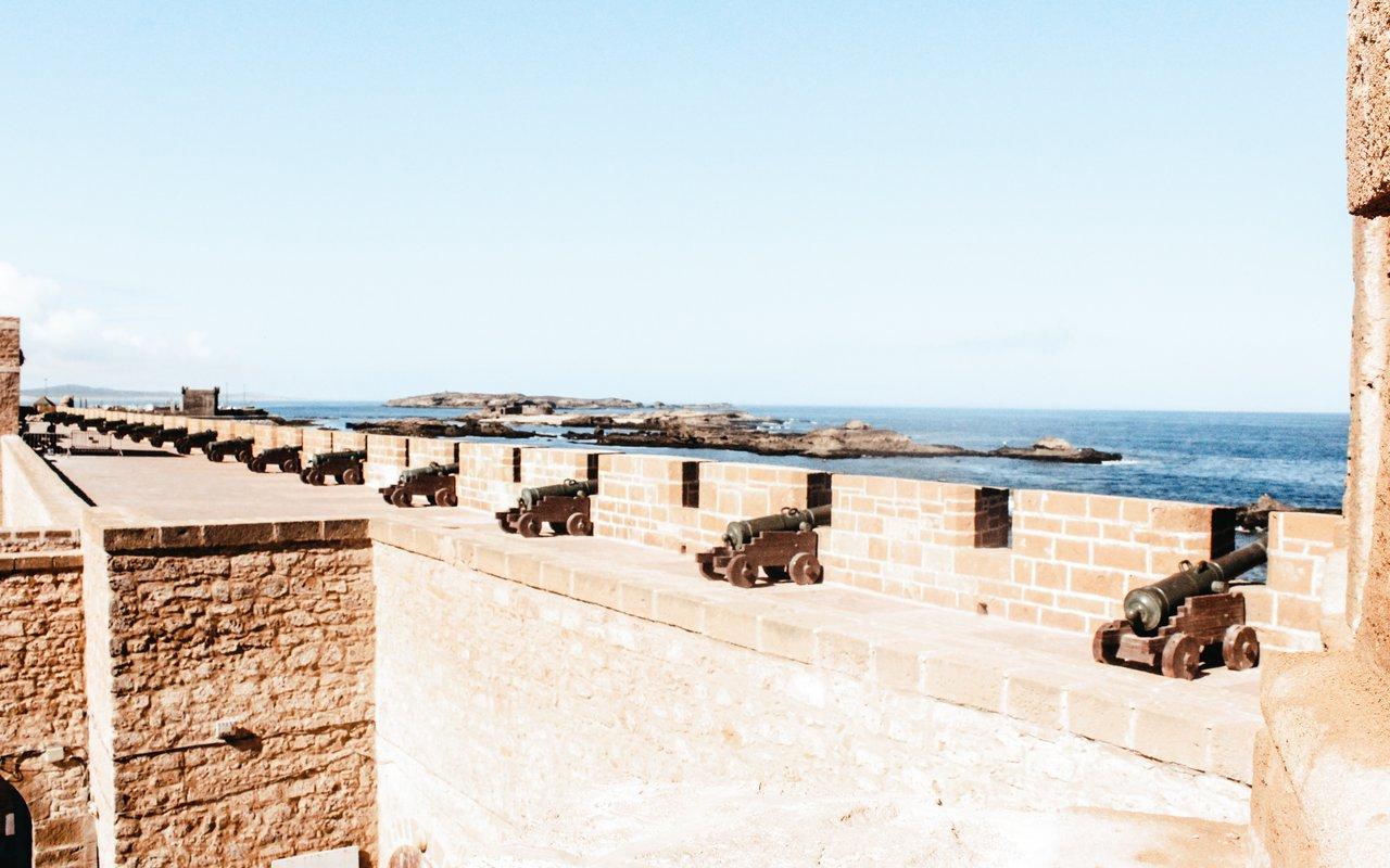 AWAYN IMAGE Walk on the edge of Essaouira Wall