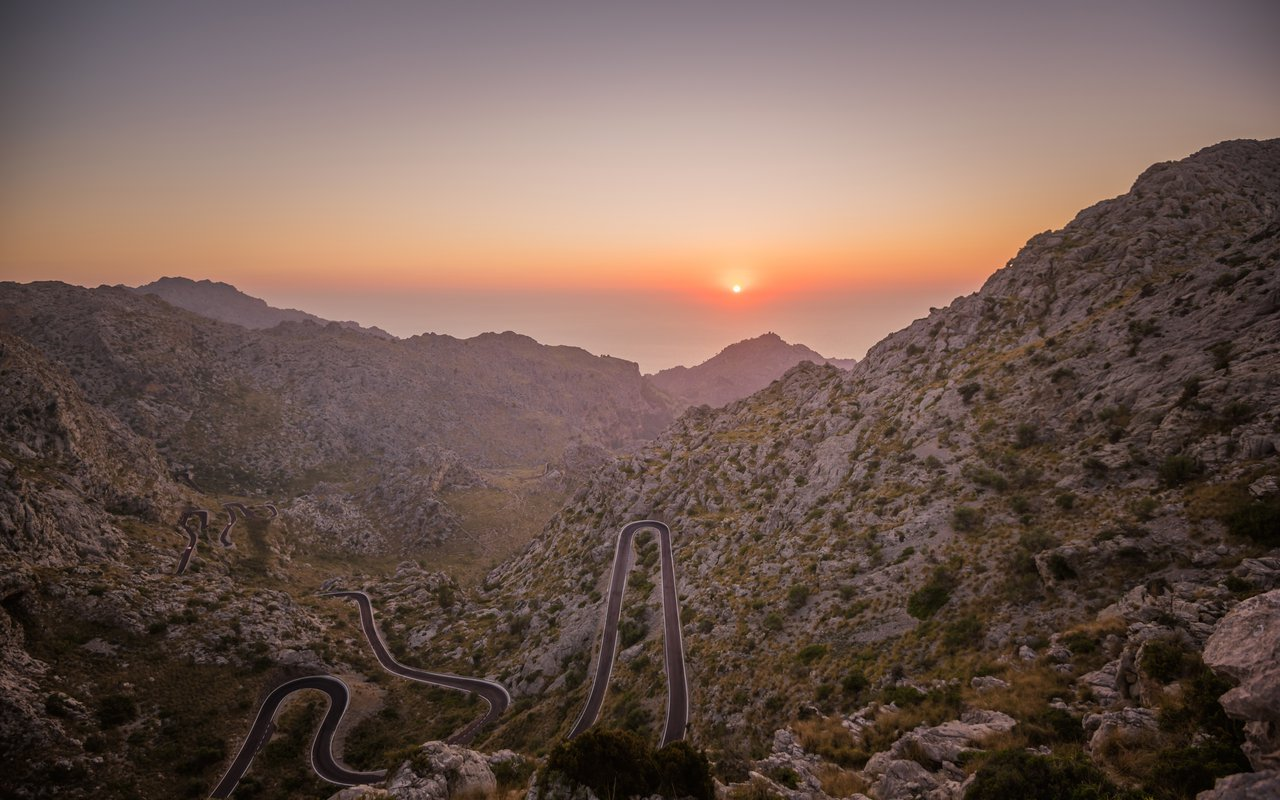 AWAYN IMAGE Drive to Mirador Es Colomer Formentor Mallorca, Llubí