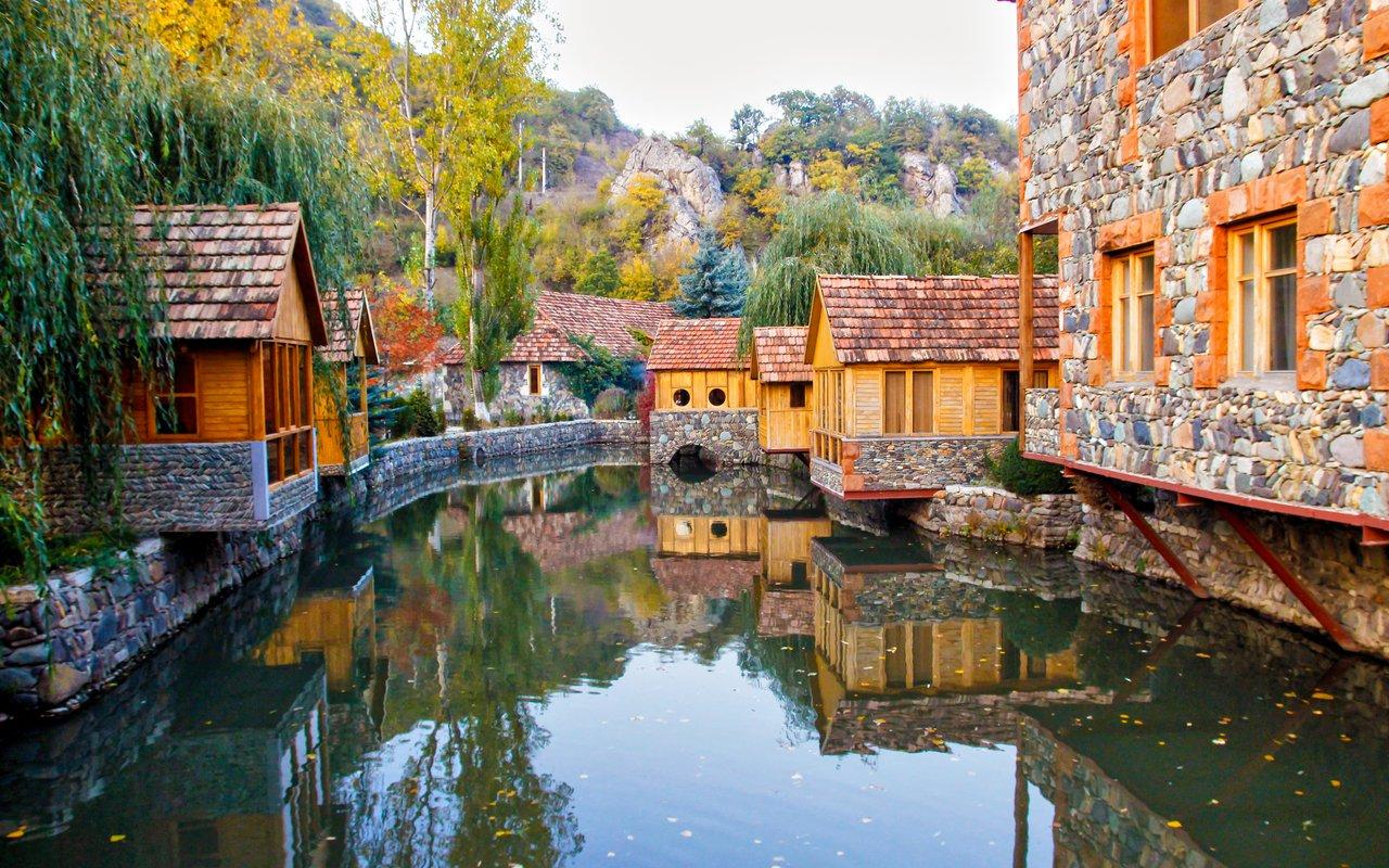 AWAYN IMAGE Visit the town of Dilijan, Armenia