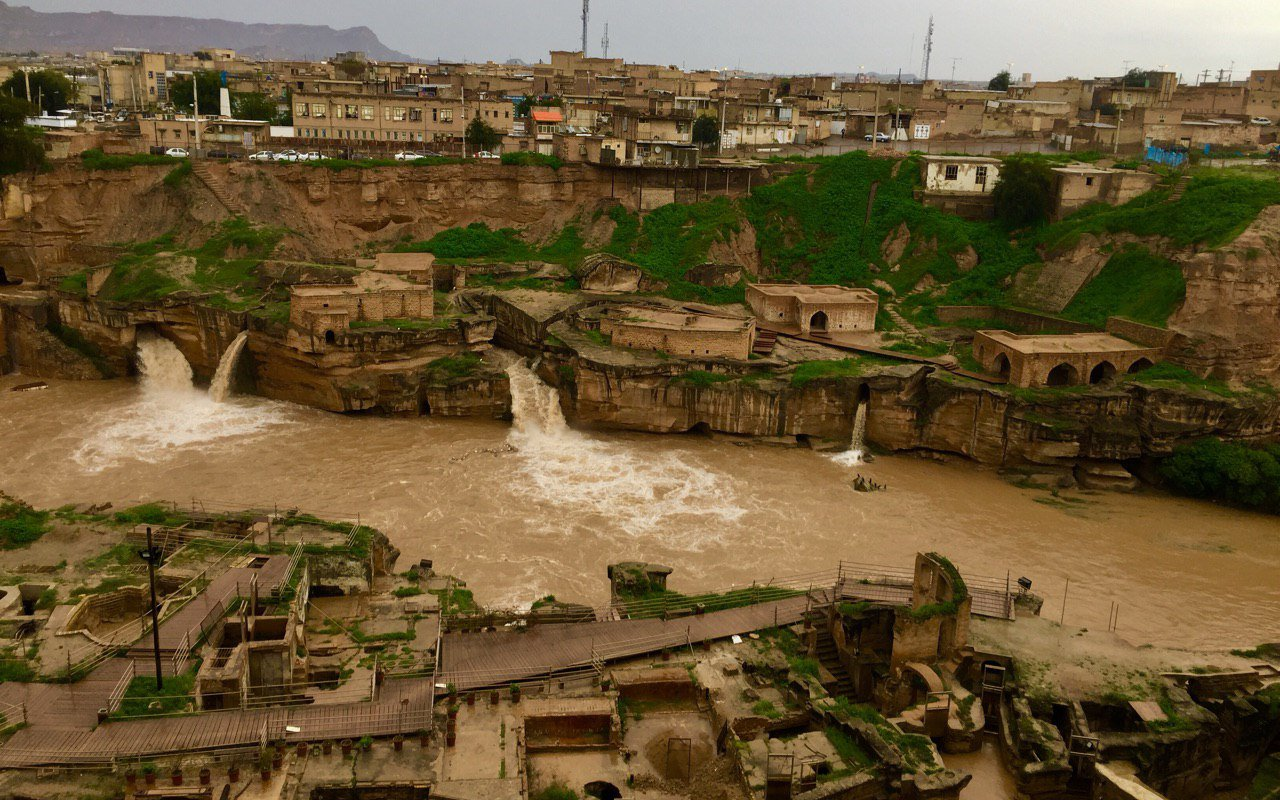 AWAYN IMAGE Shushtar historical hydraulic system