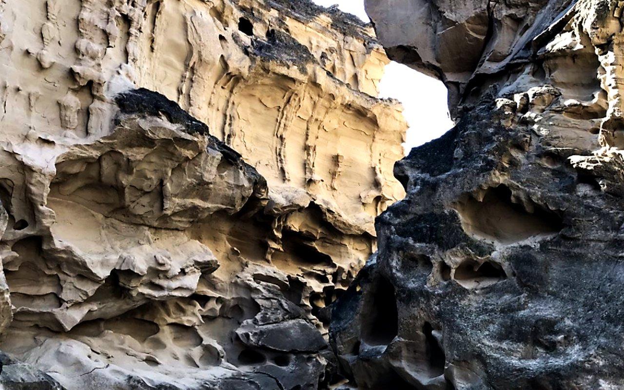 AWAYN IMAGE Largest Salt Cave in the World in Qeshim Island Geopark