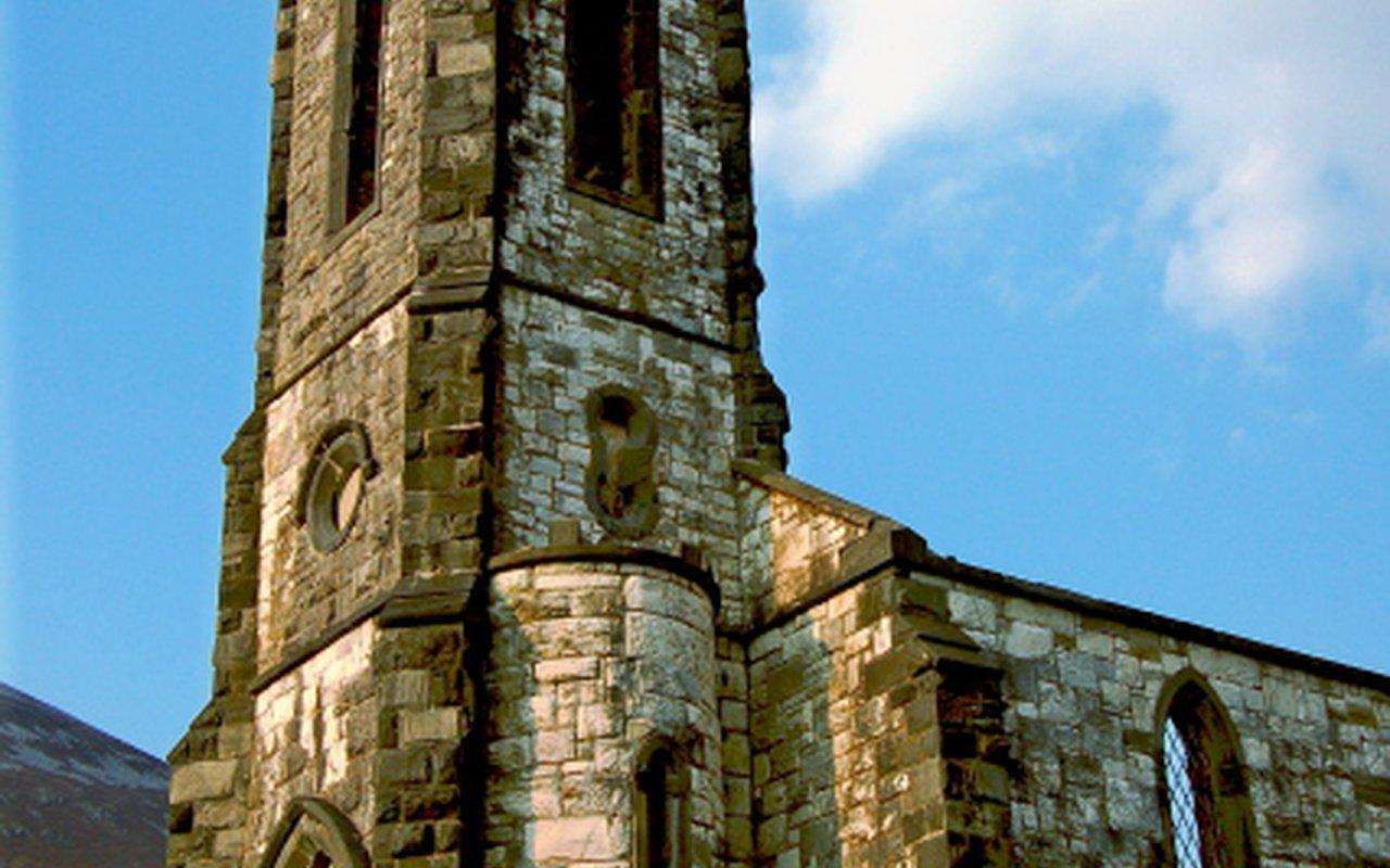 AWAYN IMAGE Photograph the Old Church Dunlewey