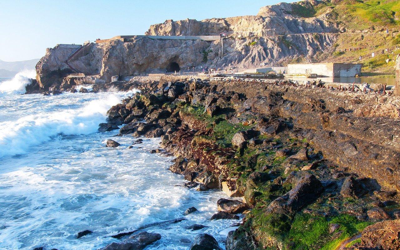 AWAYN IMAGE Sutro Baths Upper Trail in SF