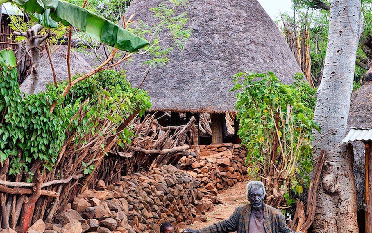 AWAYN IMAGE Konso village  ethiopia