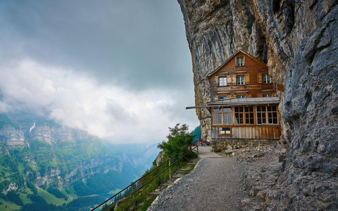 AWAYN IMAGE Hike to Berggasthaus Aescher-Wildkirchli