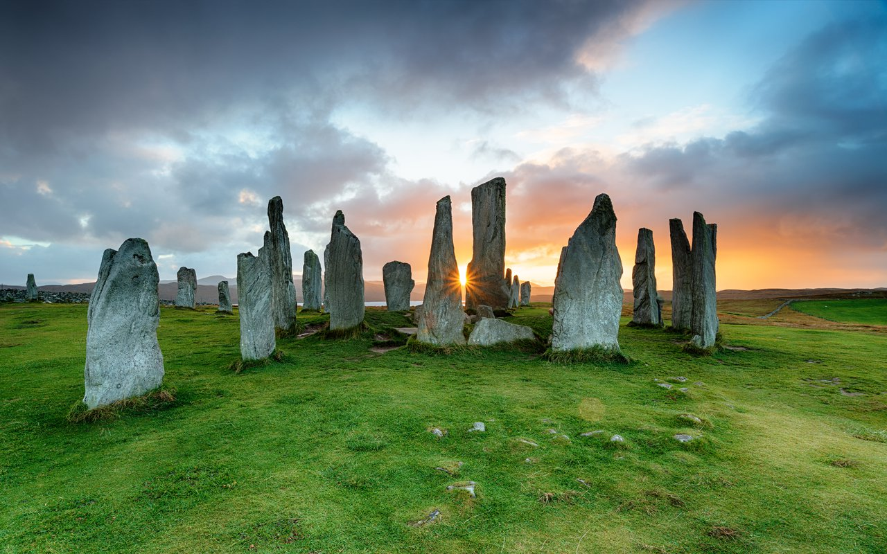 AWAYN IMAGE The Callanish Stone Circle
