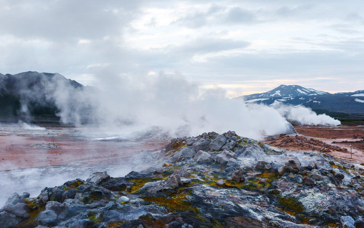 AWAYN IMAGE Námaskarð or Hverarönd Hverir