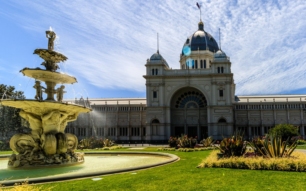 AWAYN IMAGE Royal Exhibition Building