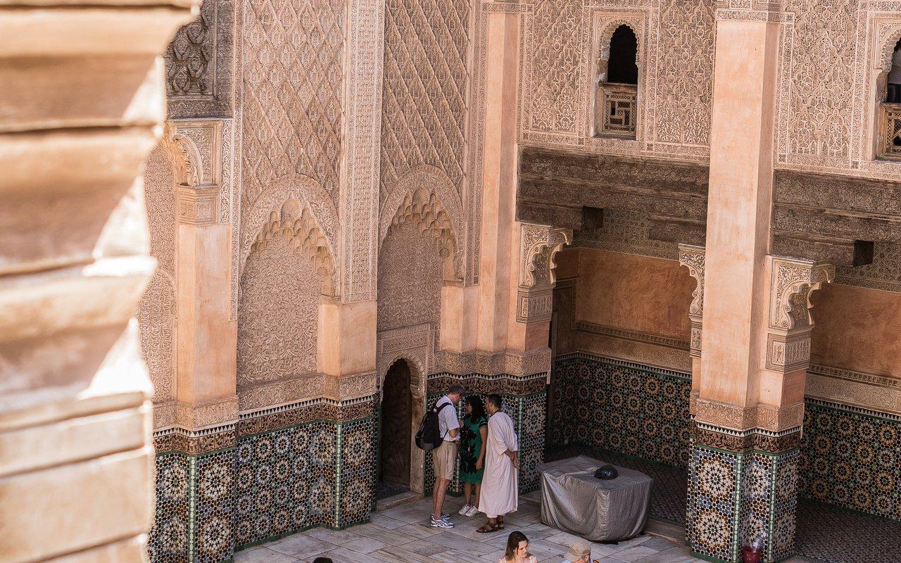 AWAYN IMAGE Stroll around Attarine Madrasa