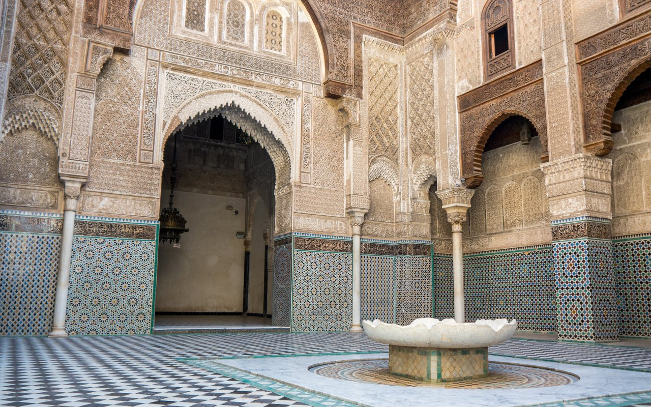 AWAYN IMAGE Attarine Madrasa
