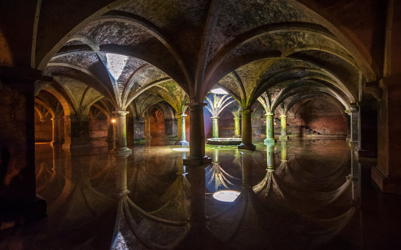 AWAYN IMAGE Portuguese Cistern El Jadida