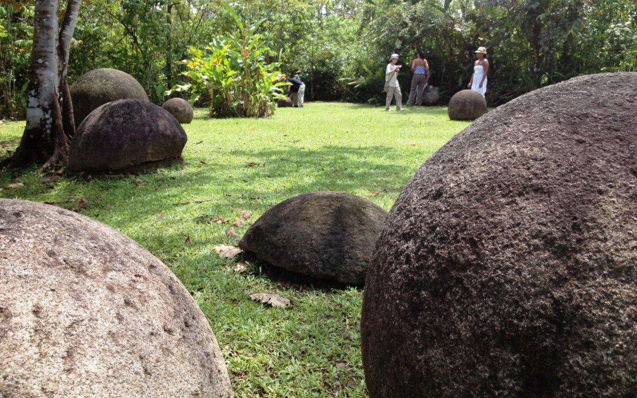 AWAYN IMAGE Costa Rican Stone Spheres
