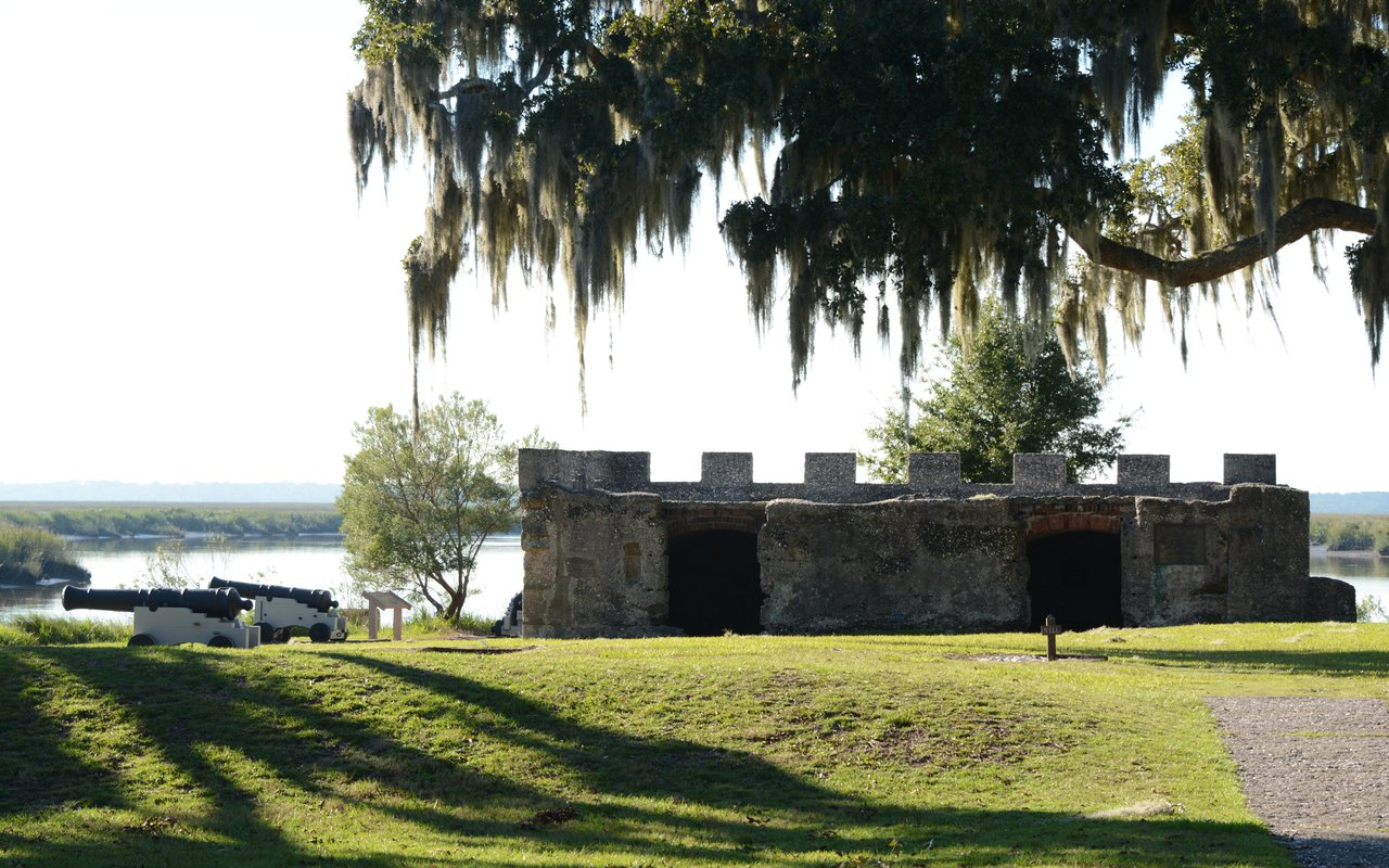 AWAYN IMAGE Explore Fort Frederica National Monument