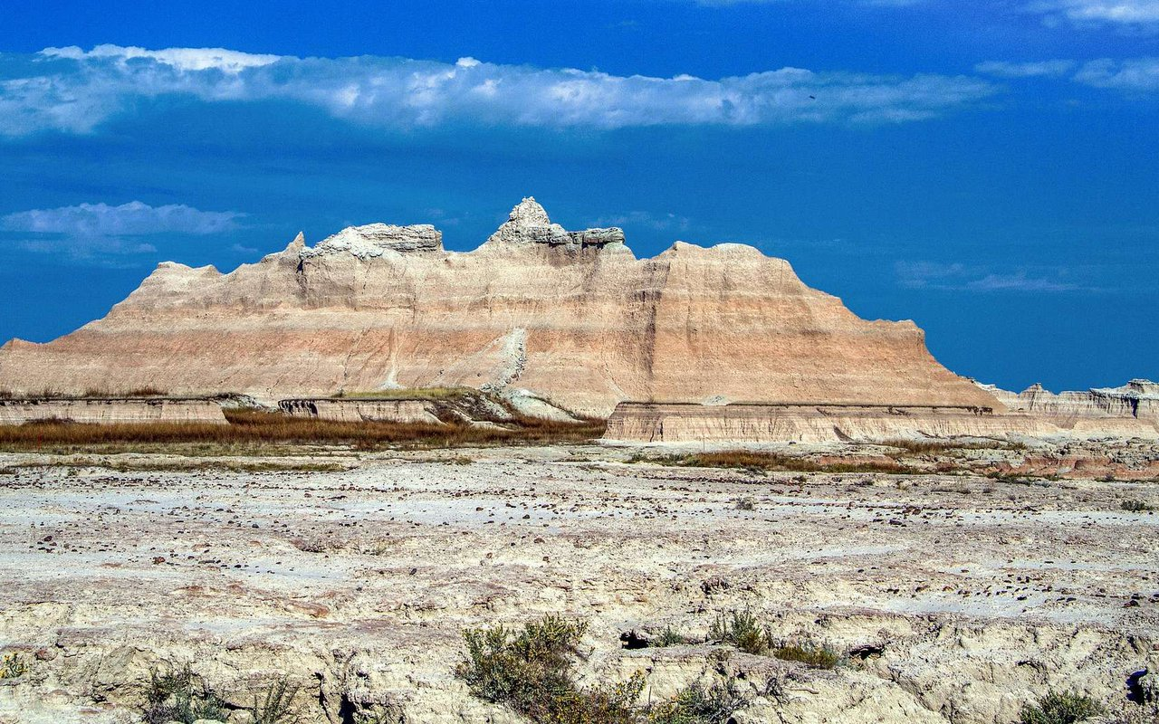 AWAYN IMAGE Badlands national park camping