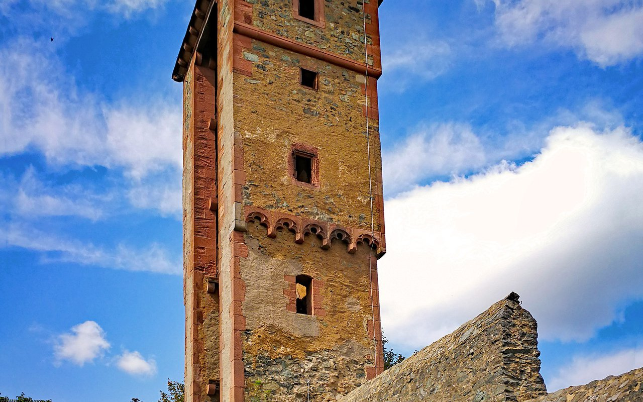 AWAYN IMAGE Castle Frankenstein Mühltal