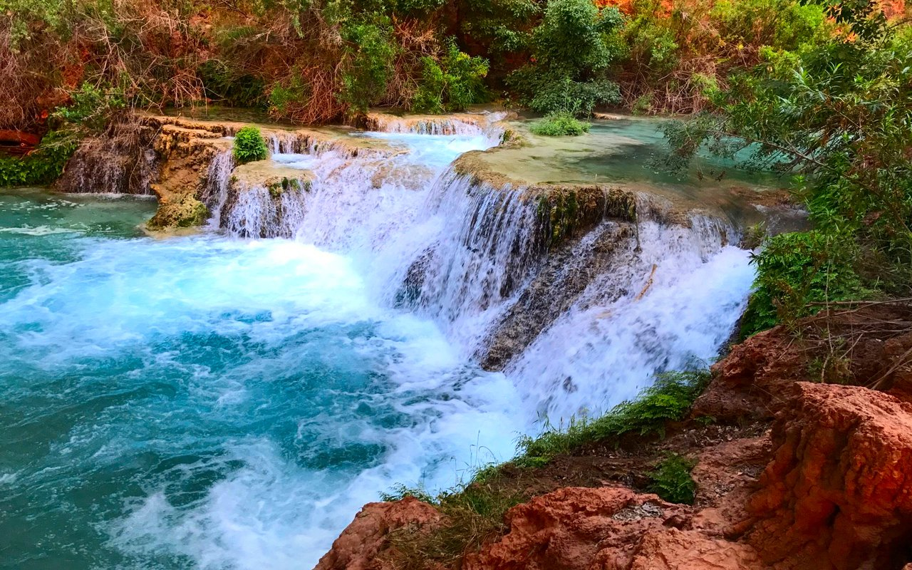 AWAYN IMAGE Beaver falls Havasu Falls and Mooney Falls