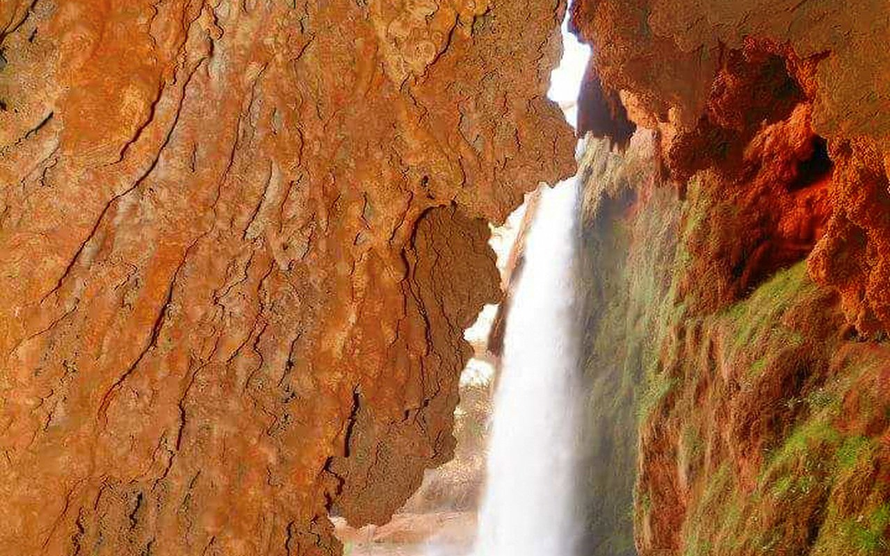 AWAYN IMAGE Beaver falls Havasu Falls and Mooney Falls