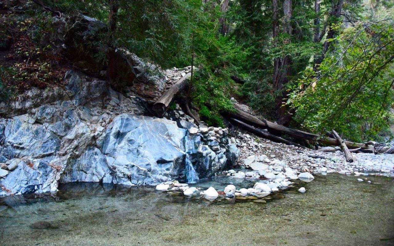 AWAYN IMAGE Camping and Backpacking Sykes Hot Springs