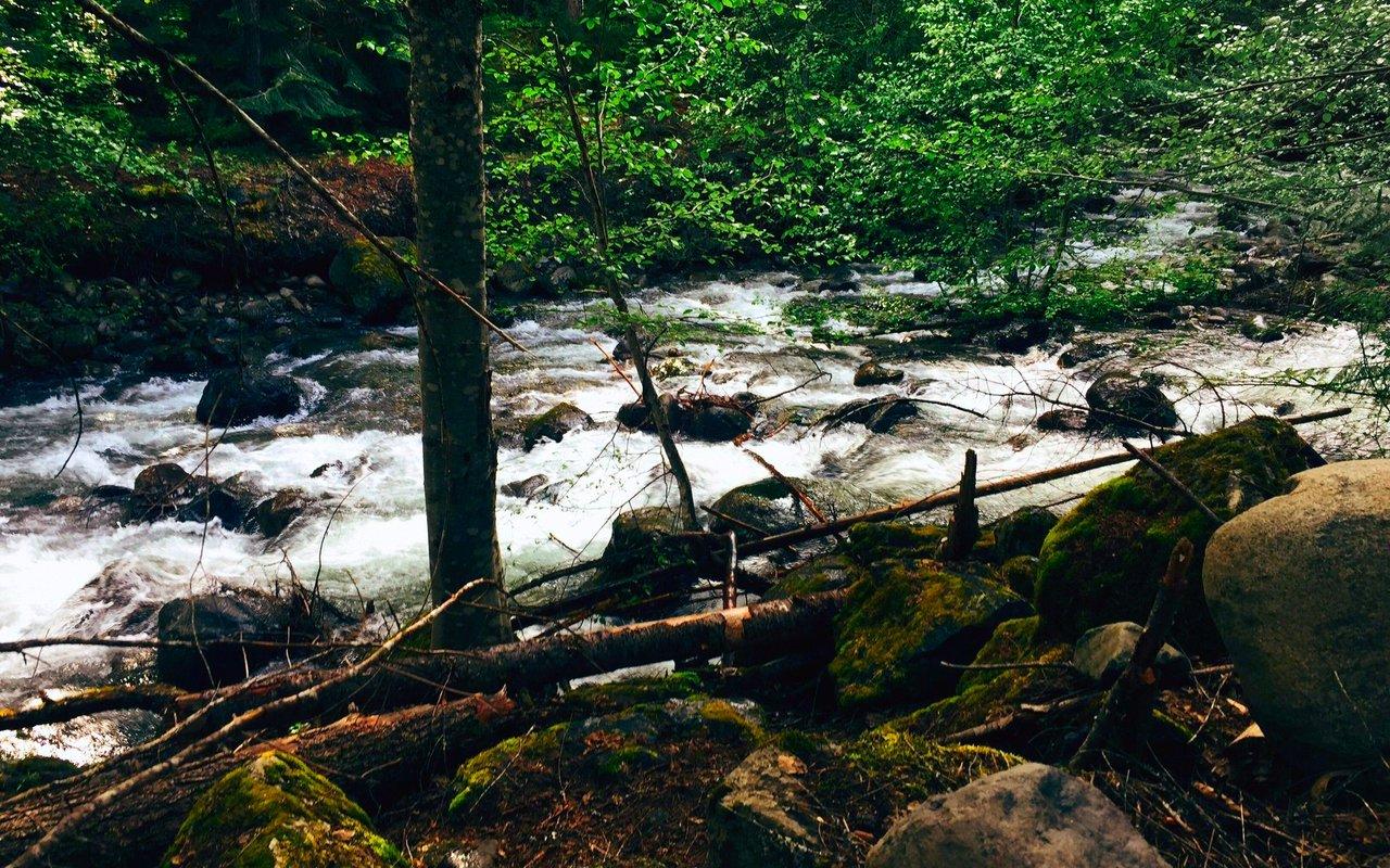 AWAYN IMAGE Hike to Franklin Falls