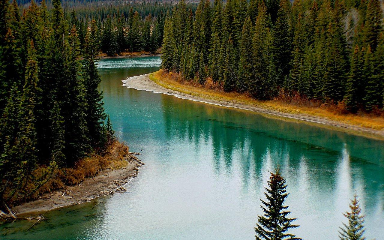 AWAYN IMAGE Bow River Trail - Banff
