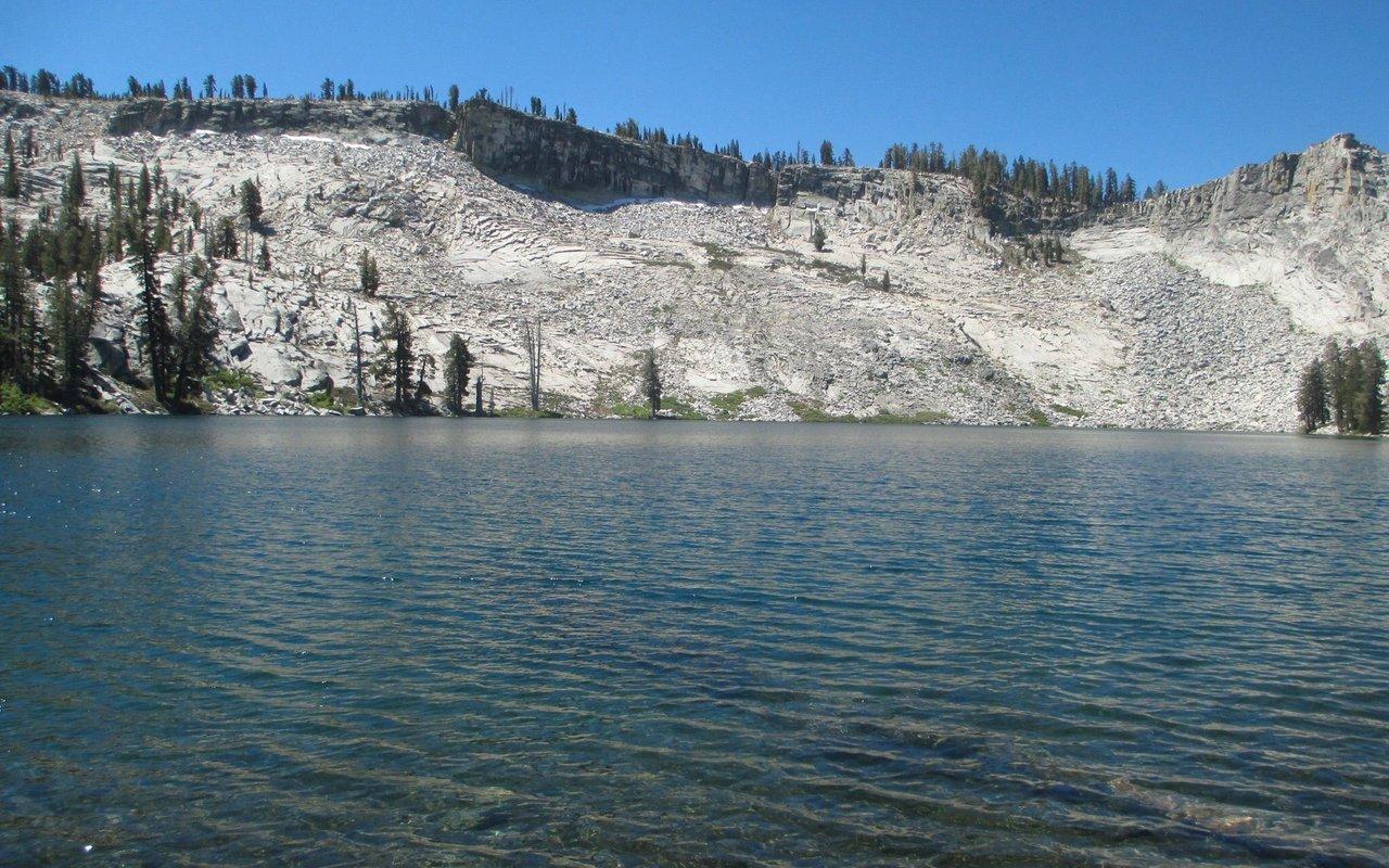 AWAYN IMAGE Ostrander Lake Trail is