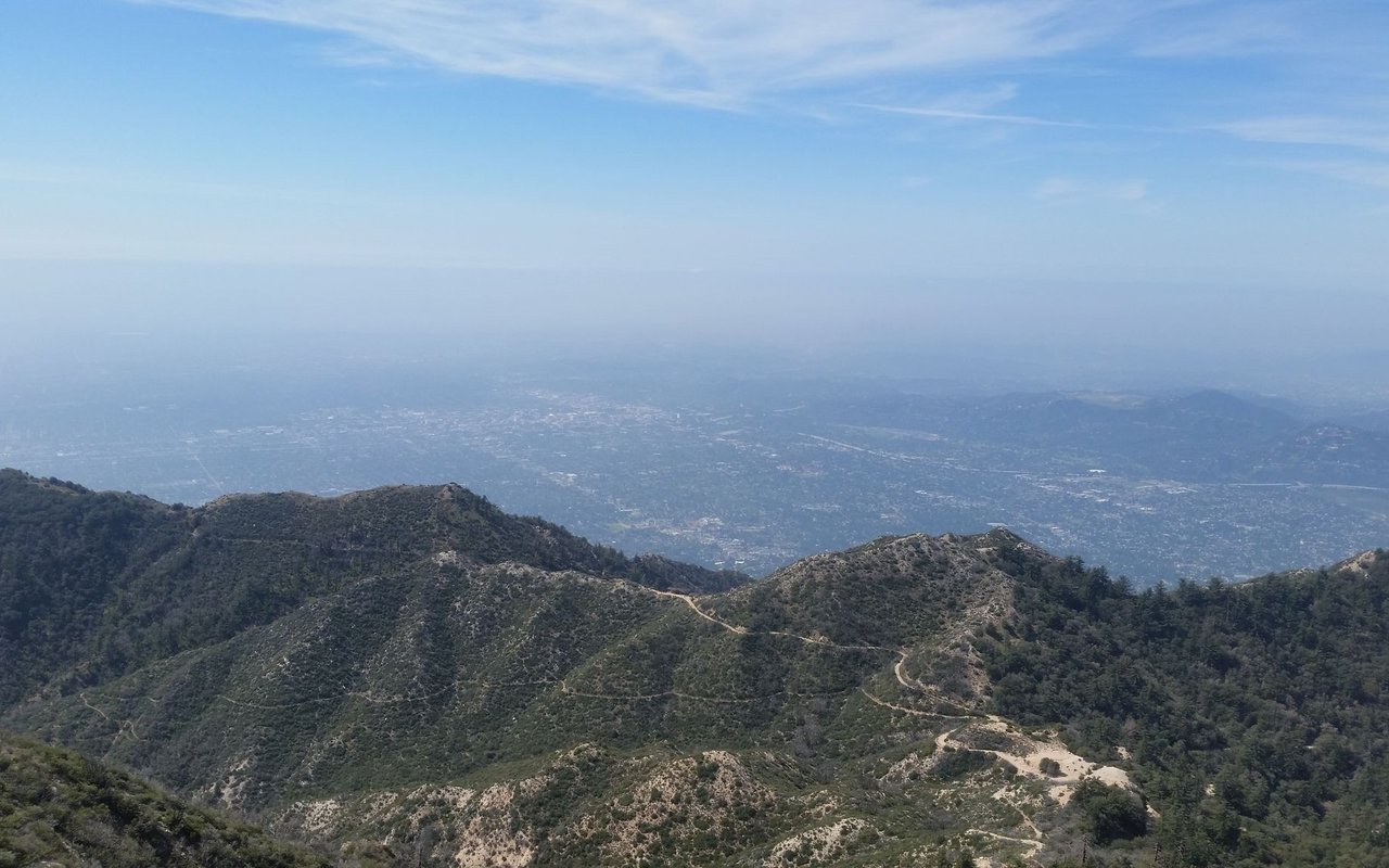 AWAYN IMAGE Hike to San Gabriel Peak Trail