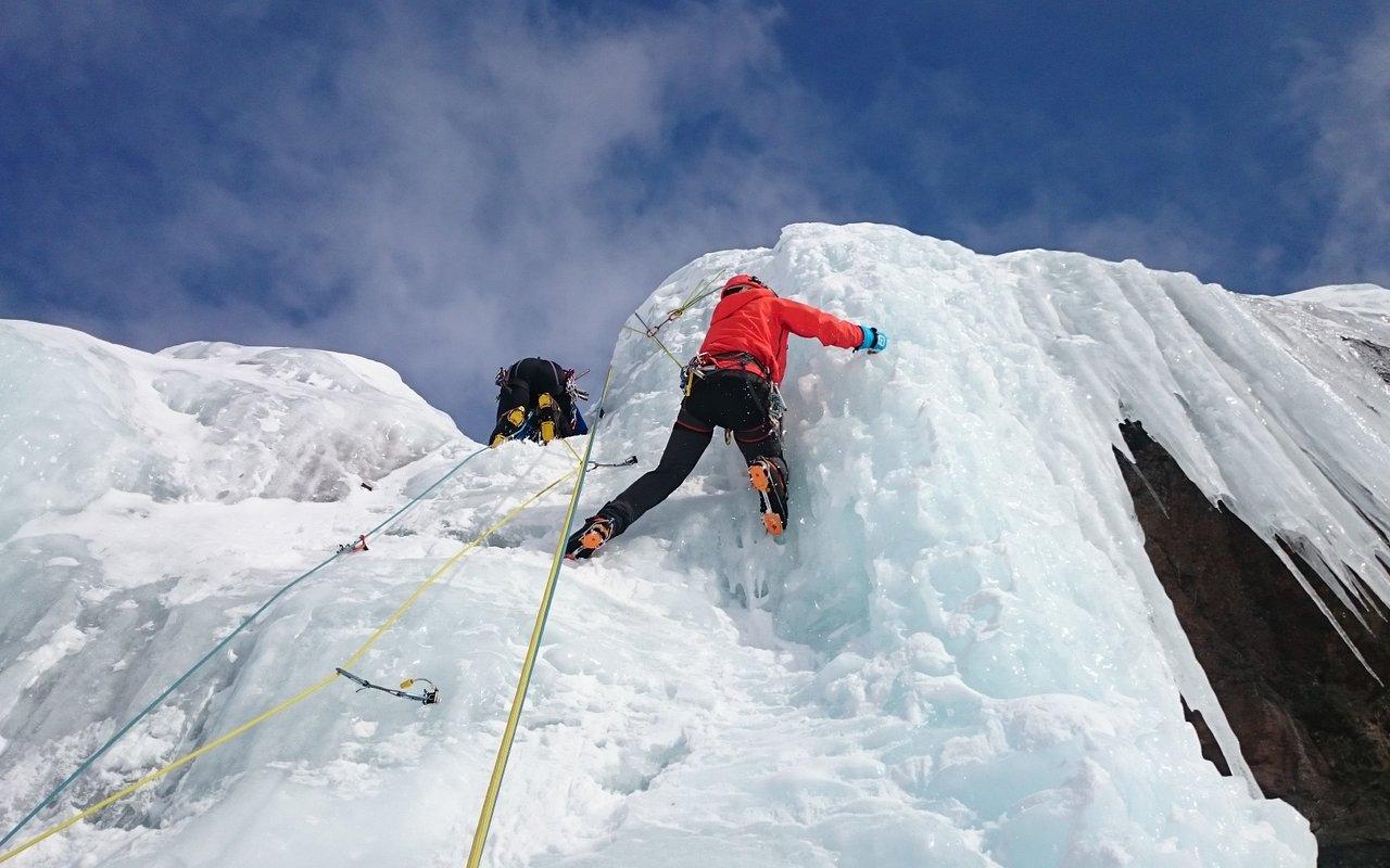 AWAYN IMAGE Ice Climbing Innere Schwarze Schneid