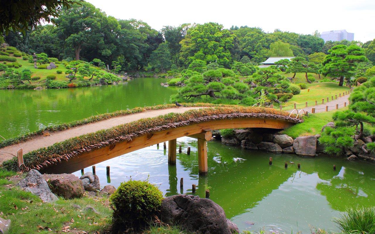 AWAYN IMAGE Walk around the Kiyosumi Teien park
