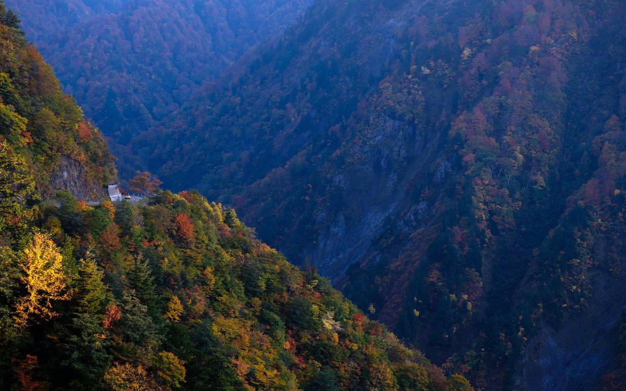 AWAYN IMAGE Autum in Tokuyama Dam