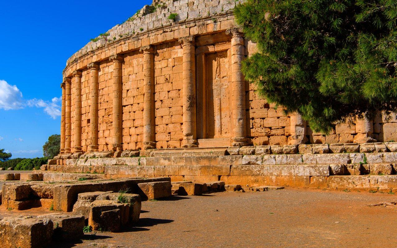 AWAYN IMAGE Royal Mausoleum of Mauretania