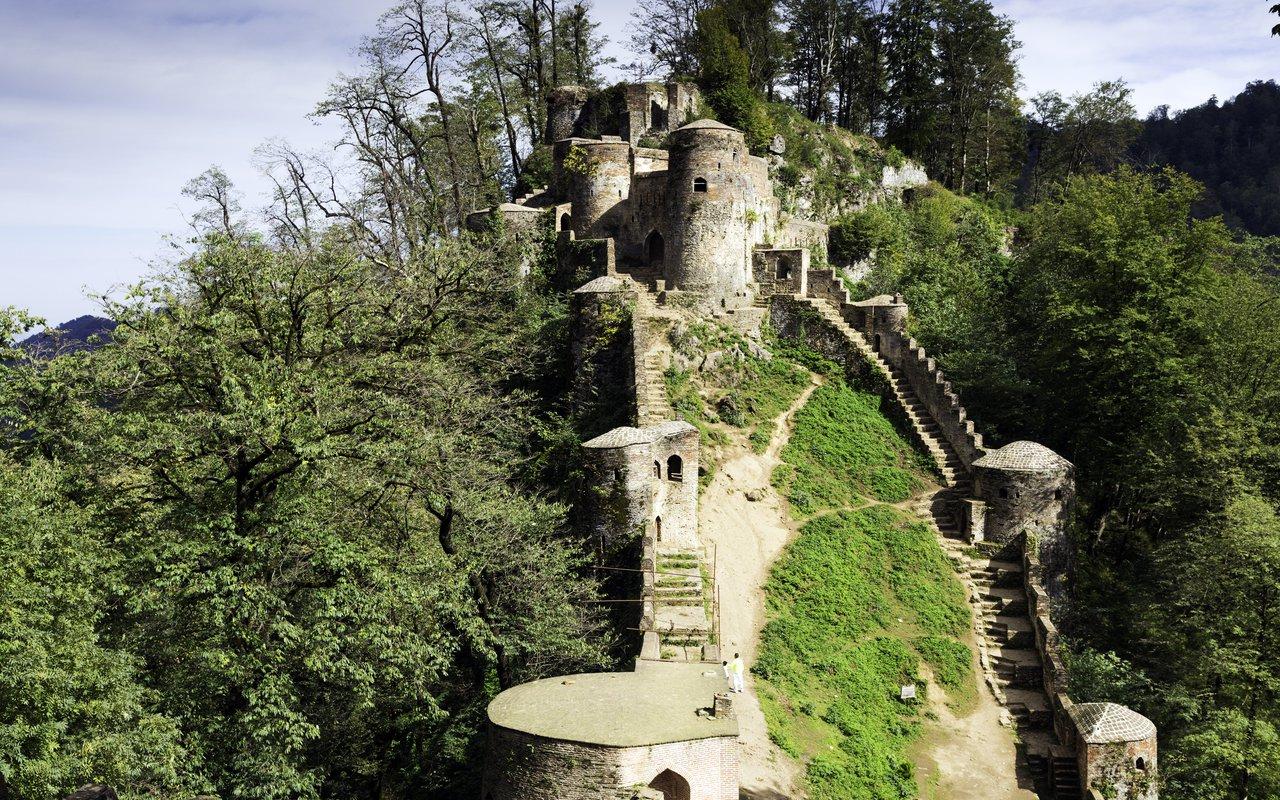 AWAYN IMAGE Explore Rudkhan Castle
