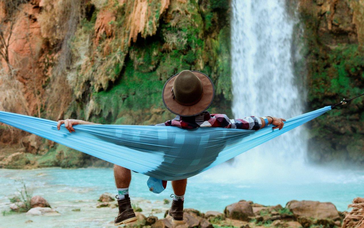 AWAYN IMAGE Camp at Havasu Falls
