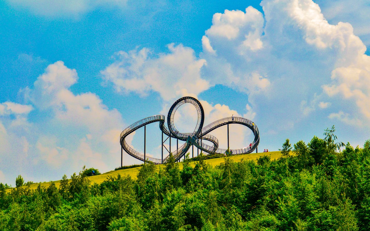 AWAYN IMAGE Turtle Magic Mountain In Duisburg