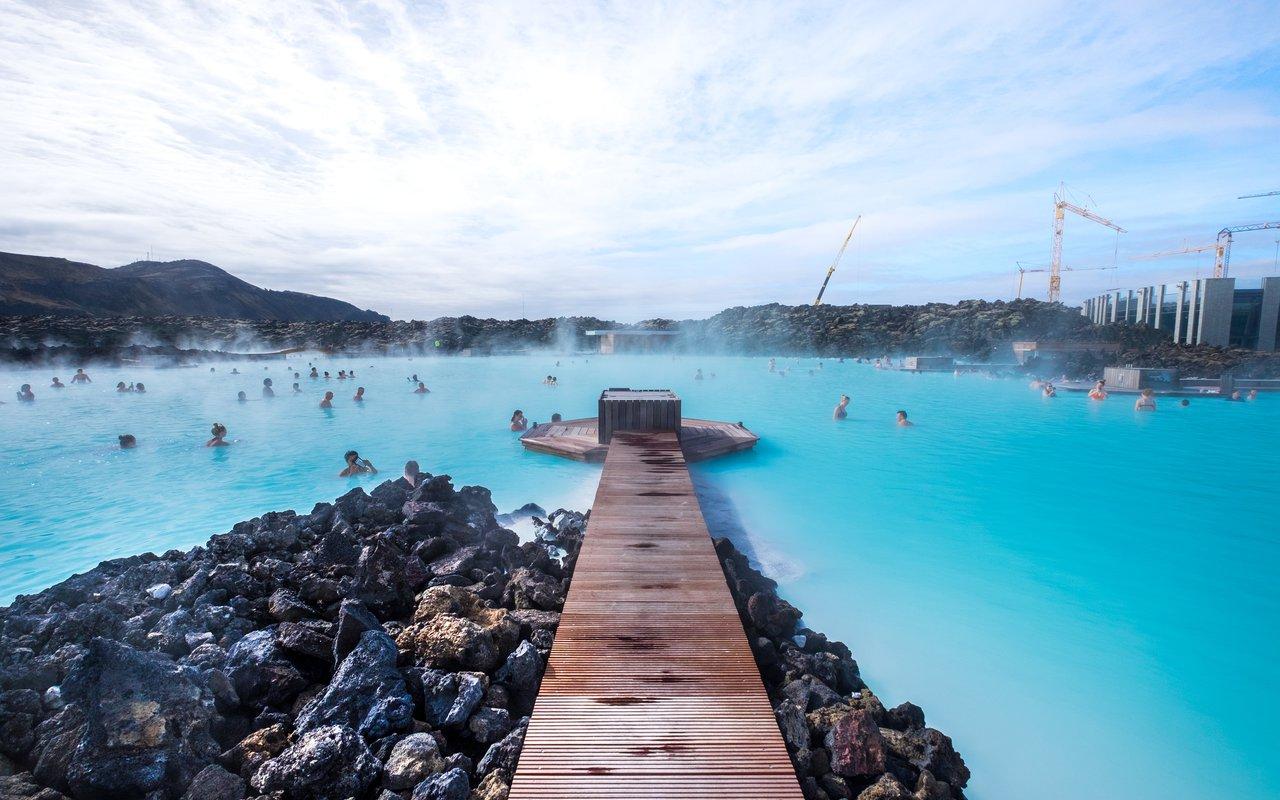 AWAYN IMAGE Dip in the Blue Lagoon, Nordurljosavegur