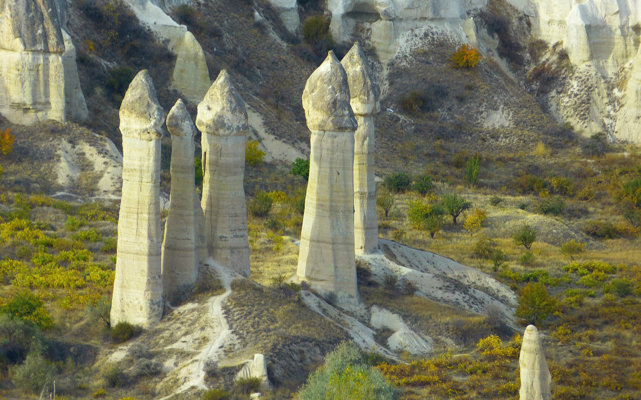AWAYN IMAGE Visit Göreme Turkey's Volcanic 'Fairy Chimneys'