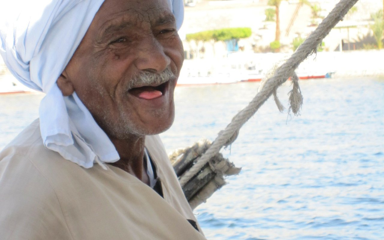 AWAYN IMAGE Felucca Ride on the Nile in Aswan