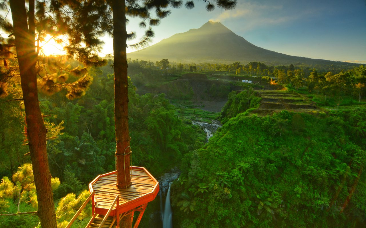 AWAYN IMAGE Photograph the Air Terjun Kedung Kayang
