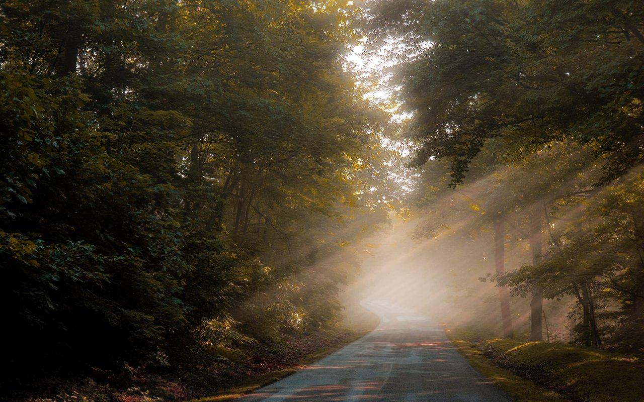 AWAYN IMAGE Blue Ridge Parkway, Asheville Hike
